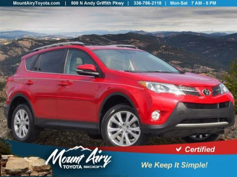 Certified Pre-Owned 2014 Toyota RAV4 AWD 4dr Limited