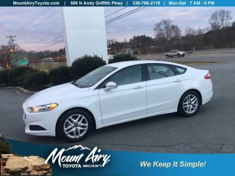 Pre-Owned 2014 Ford Fusion 4dr Sdn SE FWD