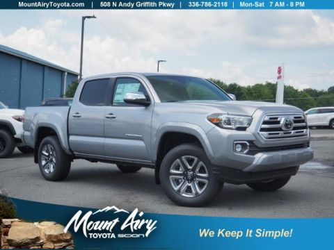 New 2018 Toyota Tacoma Limited Double Cab 5' Bed V6 4x4 AT 4WD