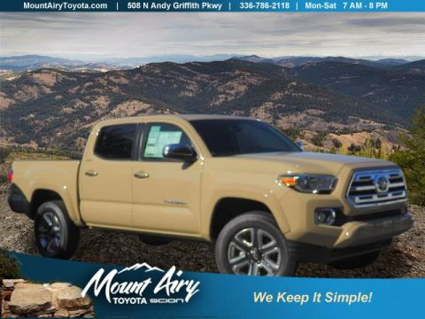 New 2018 Toyota Tacoma Limited Double Cab 5' Bed V6 4x4 AT