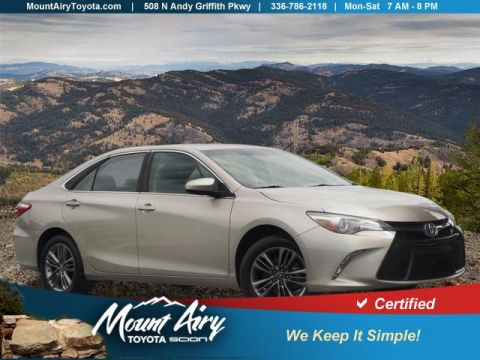Certified Pre-Owned 2016 Toyota Camry 4dr Sdn I4 Auto SE