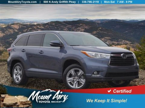 Certified Pre-Owned 2015 Toyota Highlander AWD 4dr V6 Limited Platinum
