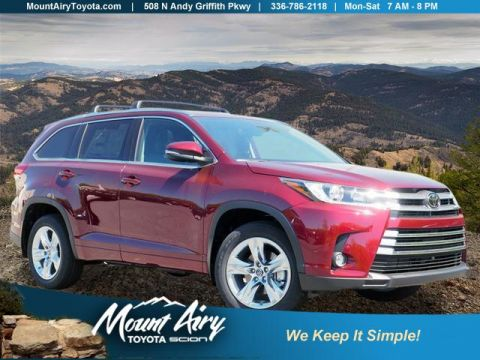 New 2018 Toyota Highlander Limited V6 AWD AWD