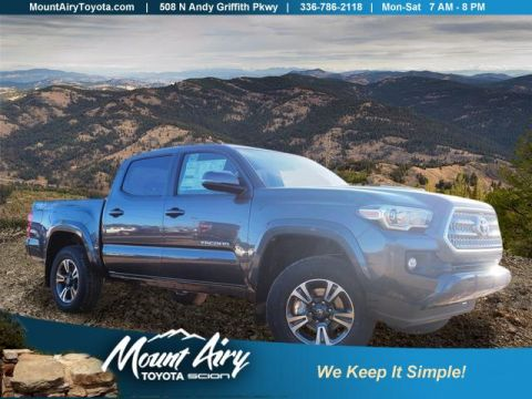 New 2017 Toyota Tacoma TRD Sport Double Cab 5' Bed V6 4x4 4WD