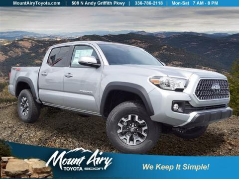 New 2018 Toyota Tacoma TRD Off Road Double Cab 5' Bed V6 4 4WD