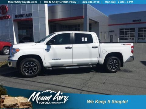 Certified Pre-Owned 2014 Toyota Tundra 4WD CrewMax 5.7L FFV V8 6-Spd AT SR5