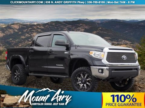 Pre-Owned 2016 Toyota Tundra 4WD CrewMax 5.7L FFV V8 6-Spd AT SR5