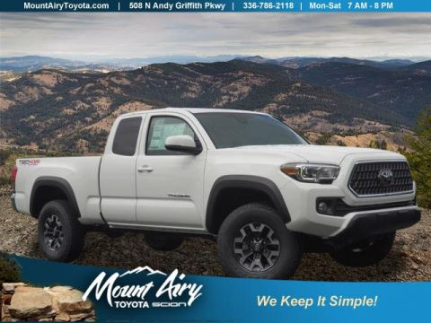 New 2018 Toyota Tacoma TRD Off Road Access Cab 6' Bed V6 4