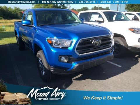 New 2018 Toyota Tacoma SR5 Access Cab 6' Bed V6 4x4 AT 4WD