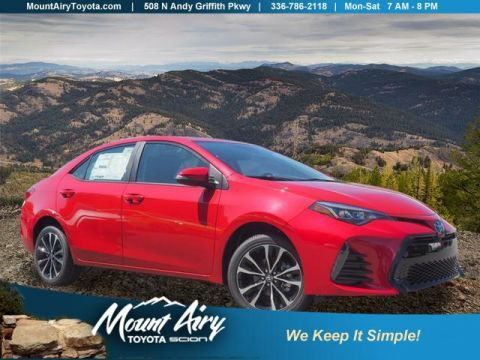New 2019 Toyota Corolla SE Manual