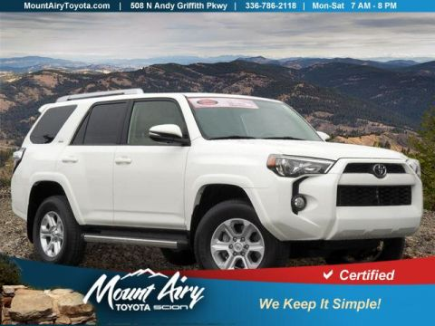 Certified Pre-Owned 2018 Toyota 4Runner SR5 Premium 4WD