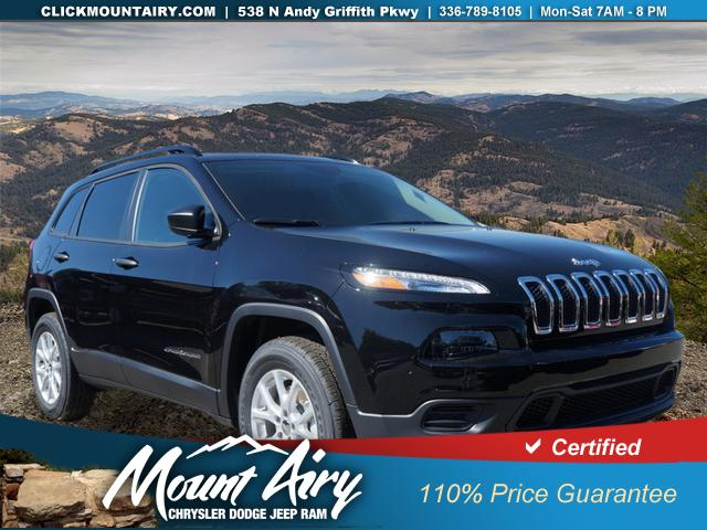 Pre-Owned 2017 Jeep Cherokee Sport 4x4