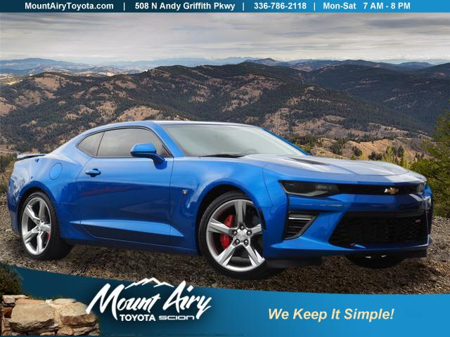 Pre-Owned 2018 Chevrolet Camaro 2dr Cpe 2SS