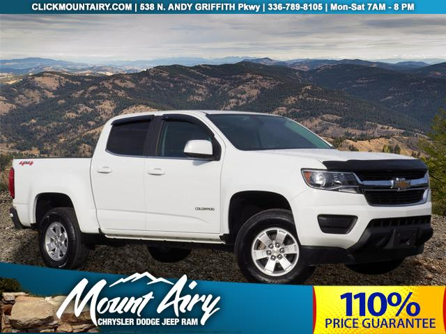 Pre-Owned 2018 Chevrolet Colorado 4WD Crew Cab 128.3 Work Truck