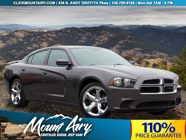 Pre-Owned 2014 Dodge Charger 4dr Sdn SE RWD