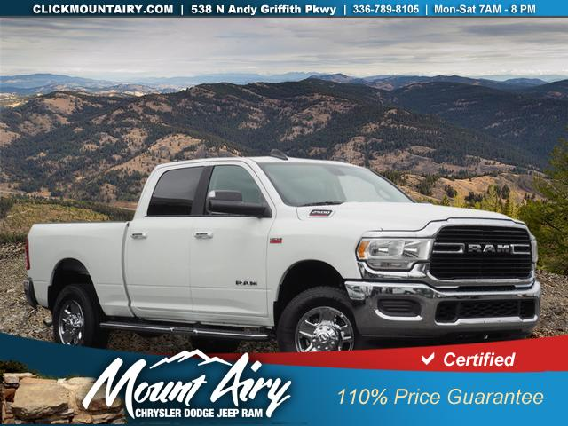 Pre-Owned 2019 Ram 2500 Big Horn 4x4 Crew Cab 6'4 Box