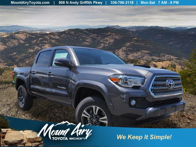 Certified Pre-Owned 2017 Toyota Tacoma TRD Sport Double Cab 5' Bed V6 4x2