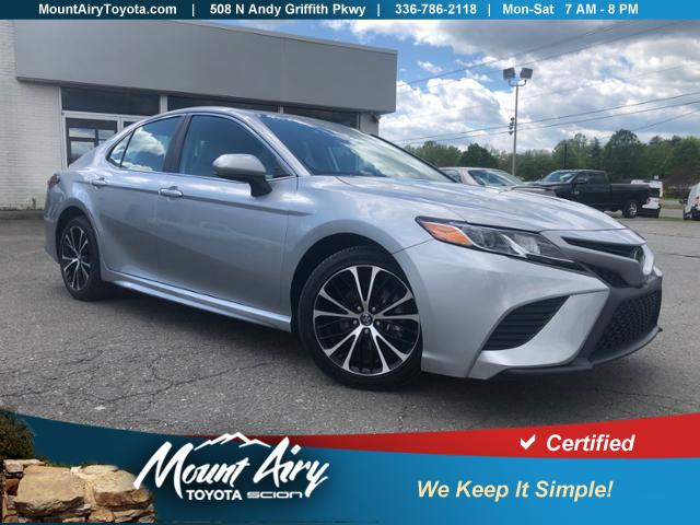 Certified Pre-Owned 2019 Toyota Camry SE Auto