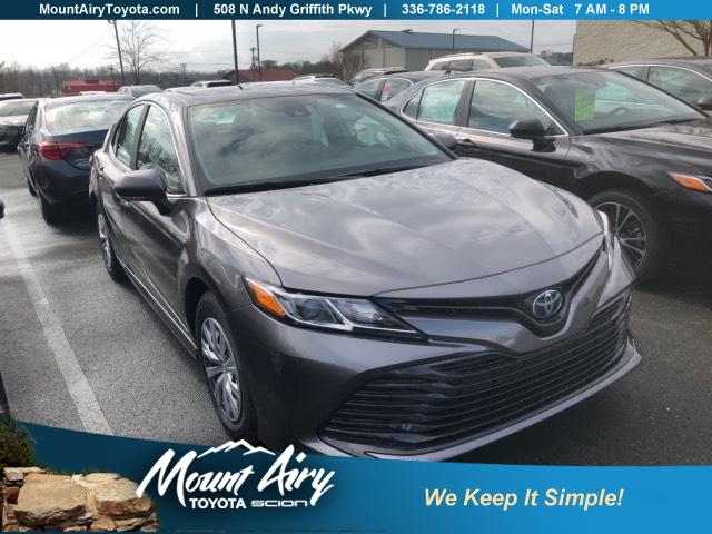 New 2019 Toyota Camry Hybrid Le Cvt 4dr Car In Mount Airy T2522