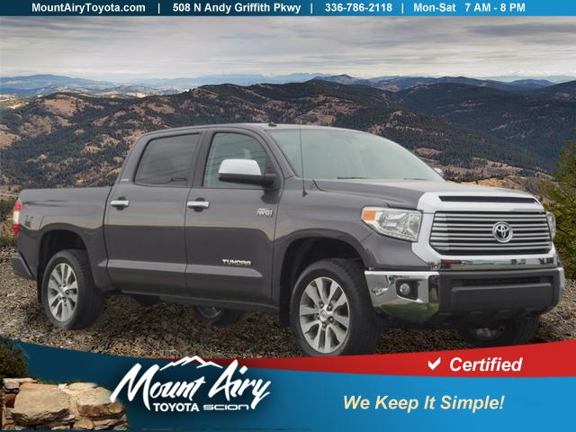 Certified Pre-Owned 2017 Toyota Tundra 4WD Limited CrewMax 5.5' Bed 5.7L