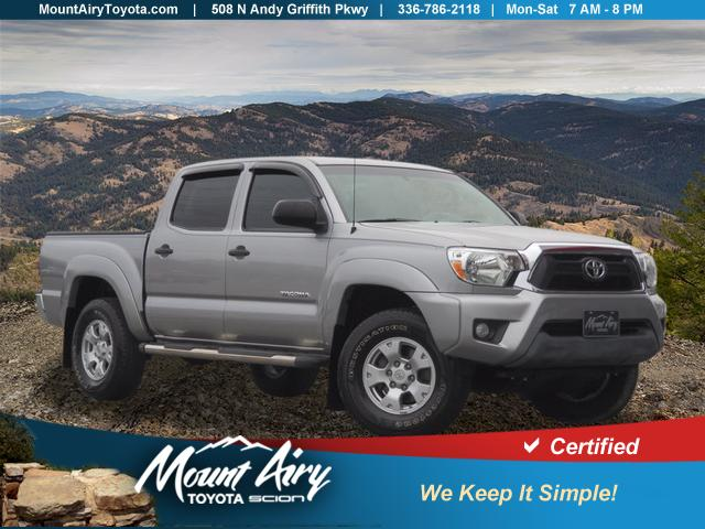Certified Pre-Owned 2014 Toyota Tacoma 4WD Double Cab V6 AT