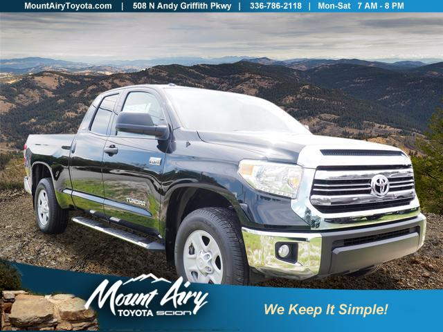 New 2017 Toyota Tundra 4WD SR5 Double Cab 6.5' Bed 5.7L FFV