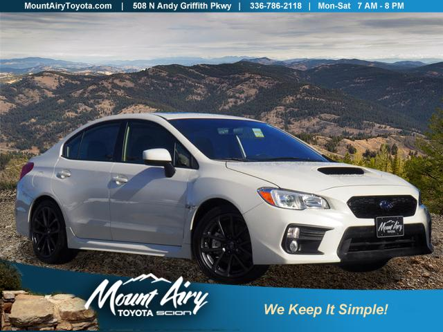 Pre-Owned 2019 Subaru WRX Premium Manual