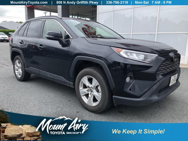 Certified Pre-Owned 2019 Toyota RAV4 XLE FWD
