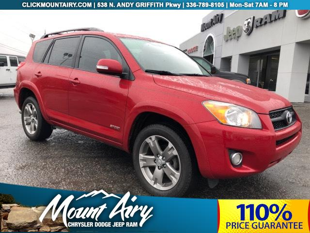 Pre-Owned 2010 Toyota RAV4 FWD 4dr 4-cyl 4-Spd AT Sport