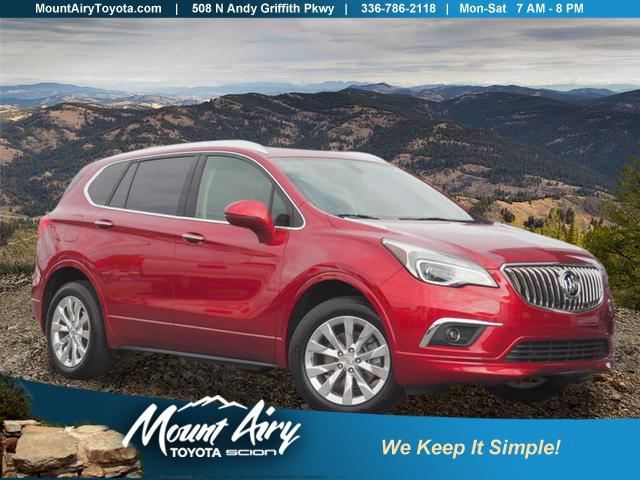Pre-Owned 2017 Buick Envision FWD 4dr Essence