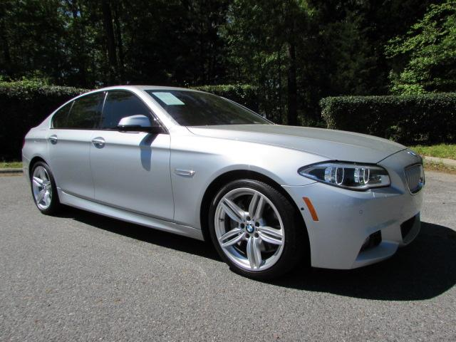 Pre-Owned 2015 BMW 5 Series 4dr Sdn 550i RWD