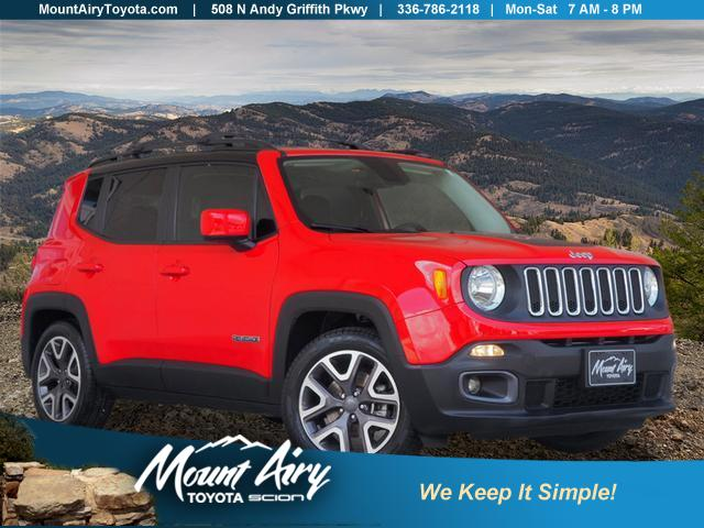 Pre-Owned 2016 Jeep Renegade FWD 4dr Latitude