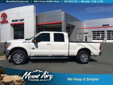 Pre-Owned 2014 Ford Super Duty F-250 SRW 4WD Crew Cab 156 Lariat