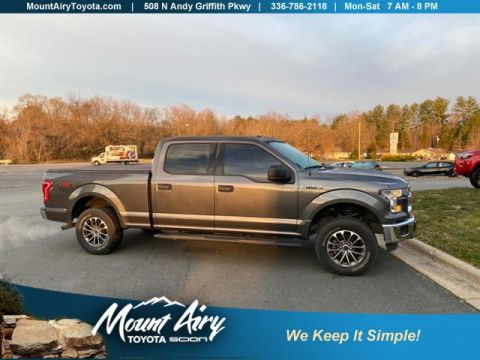 Pre-Owned 2015 Ford F-150 4WD SuperCrew 157 XL