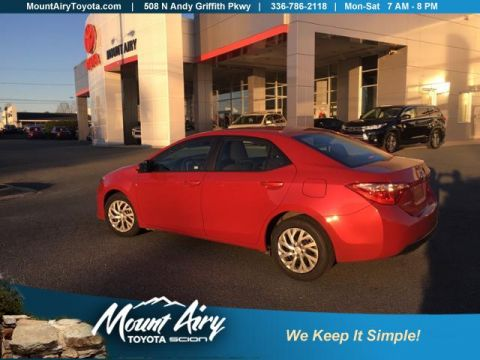 Certified Pre-Owned 2018 Toyota Corolla LE CVT