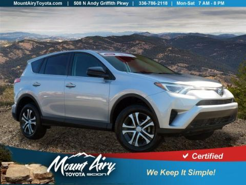 Certified Pre-Owned 2018 Toyota RAV4 LE FWD