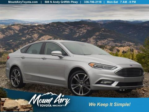 Pre-Owned 2017 Ford Fusion Titanium FWD