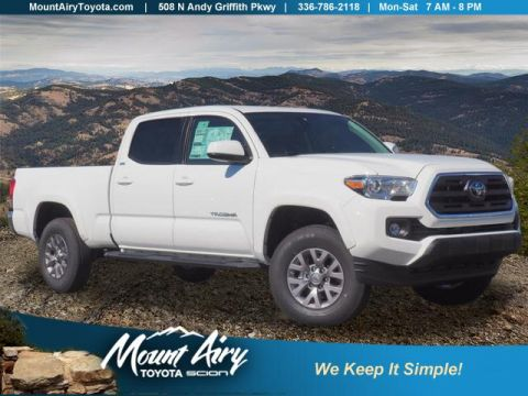New 2019 Toyota Tacoma 4WD SR5 Double Cab 6' Bed V6 AT