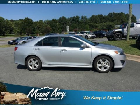 Pre-Owned 2013 Toyota Camry 4dr Sdn I4 Auto SE