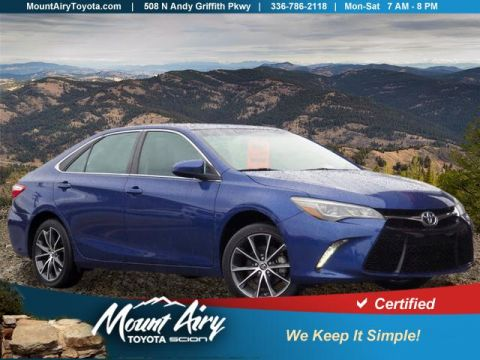 Certified Pre-Owned 2016 Toyota Camry 4dr Sdn V6 Auto XSE