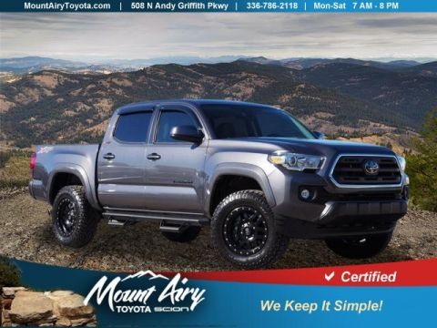 Certified Pre-Owned 2018 Toyota Tacoma SR5 Double Cab 5' Bed V6 4x4 AT