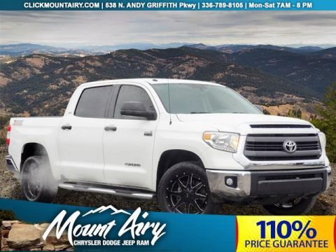 Pre-Owned 2015 Toyota Tundra 4WD CrewMax 5.7L FFV V8 6-Spd AT SR5