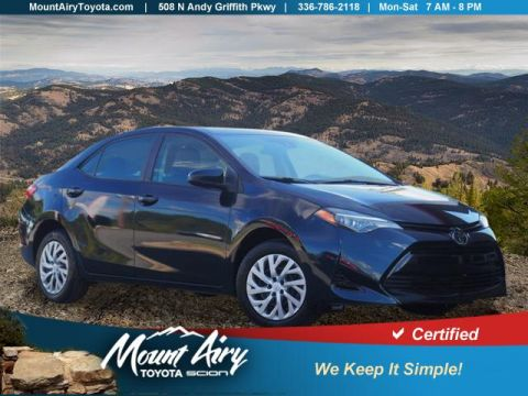 Certified Pre-Owned 2017 Toyota Corolla LE CVT