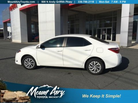 Certified Pre-Owned 2018 Toyota Corolla SE CVT