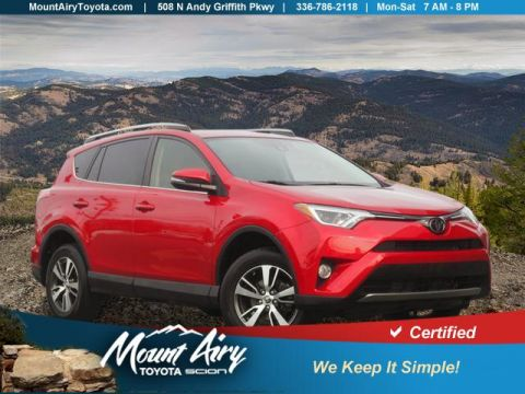 Certified Pre-Owned 2017 Toyota RAV4 XLE AWD