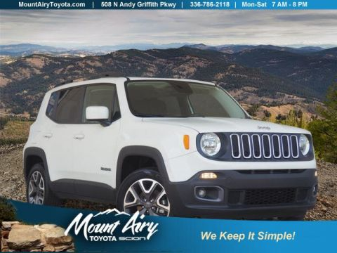 Pre-Owned 2016 Jeep Renegade 4WD 4dr Latitude